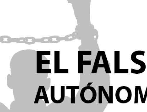 EL FALSO AUTÓNOMO