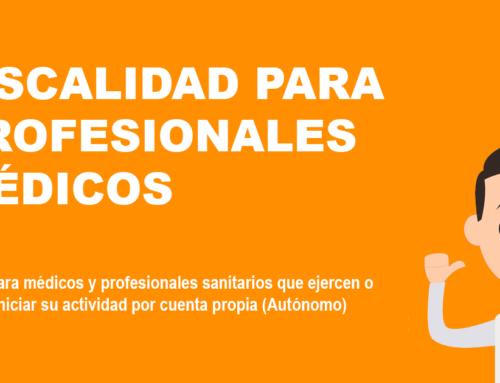 FISCALIDAD DEL PROFESIONAL MÉDICO-SANITARIO POR CUENTA PROPIA